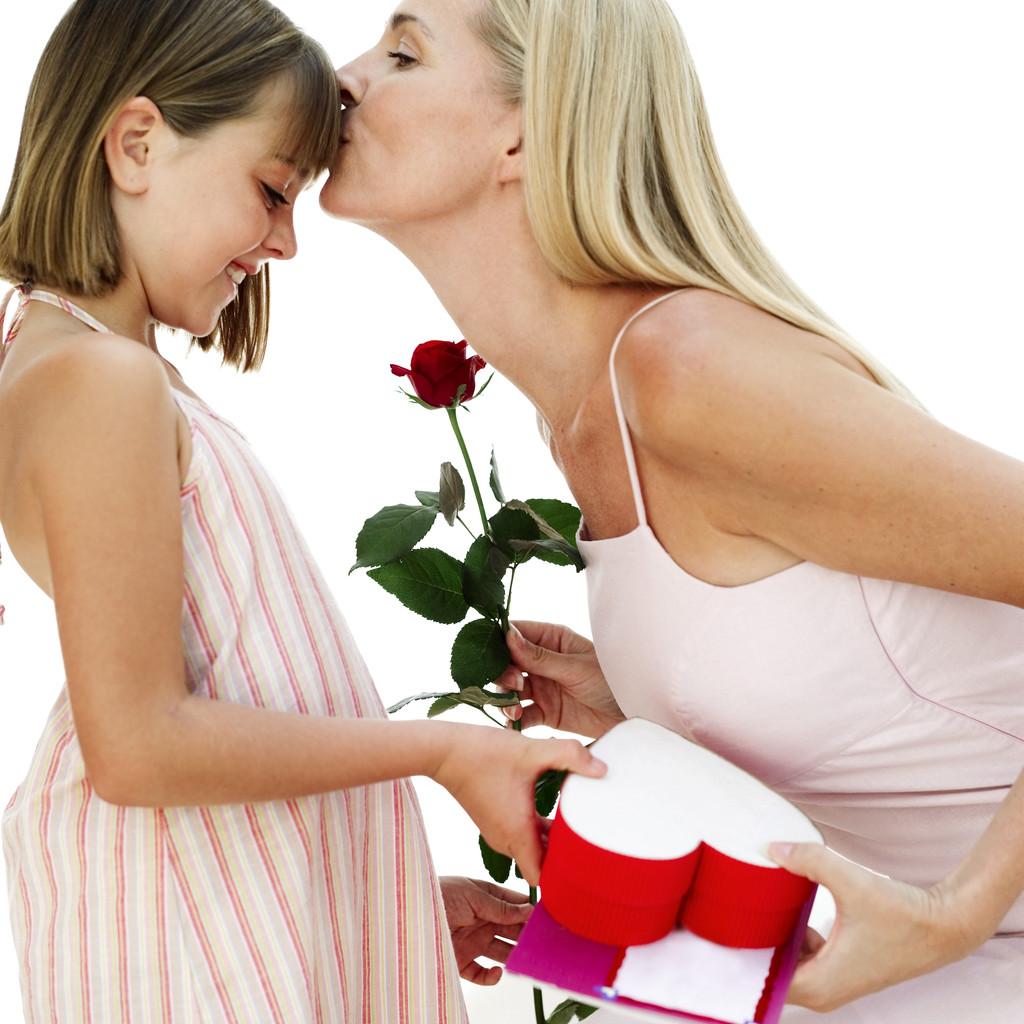 Una borsetta per il trucco artigianale con foto per la mamma